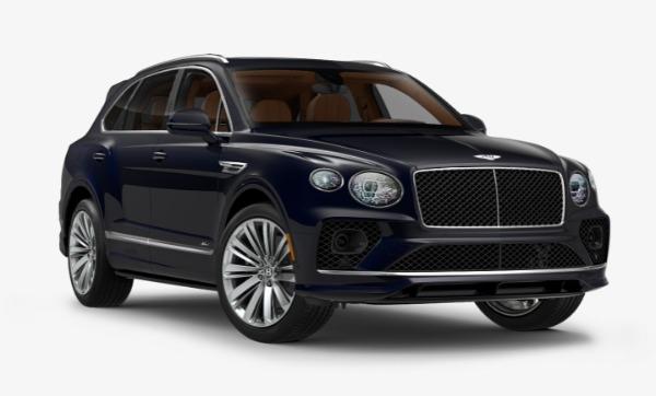 New 2021 Bentley Bentayga Speed for sale Sold at Alfa Romeo of Westport in Westport CT 06880 1