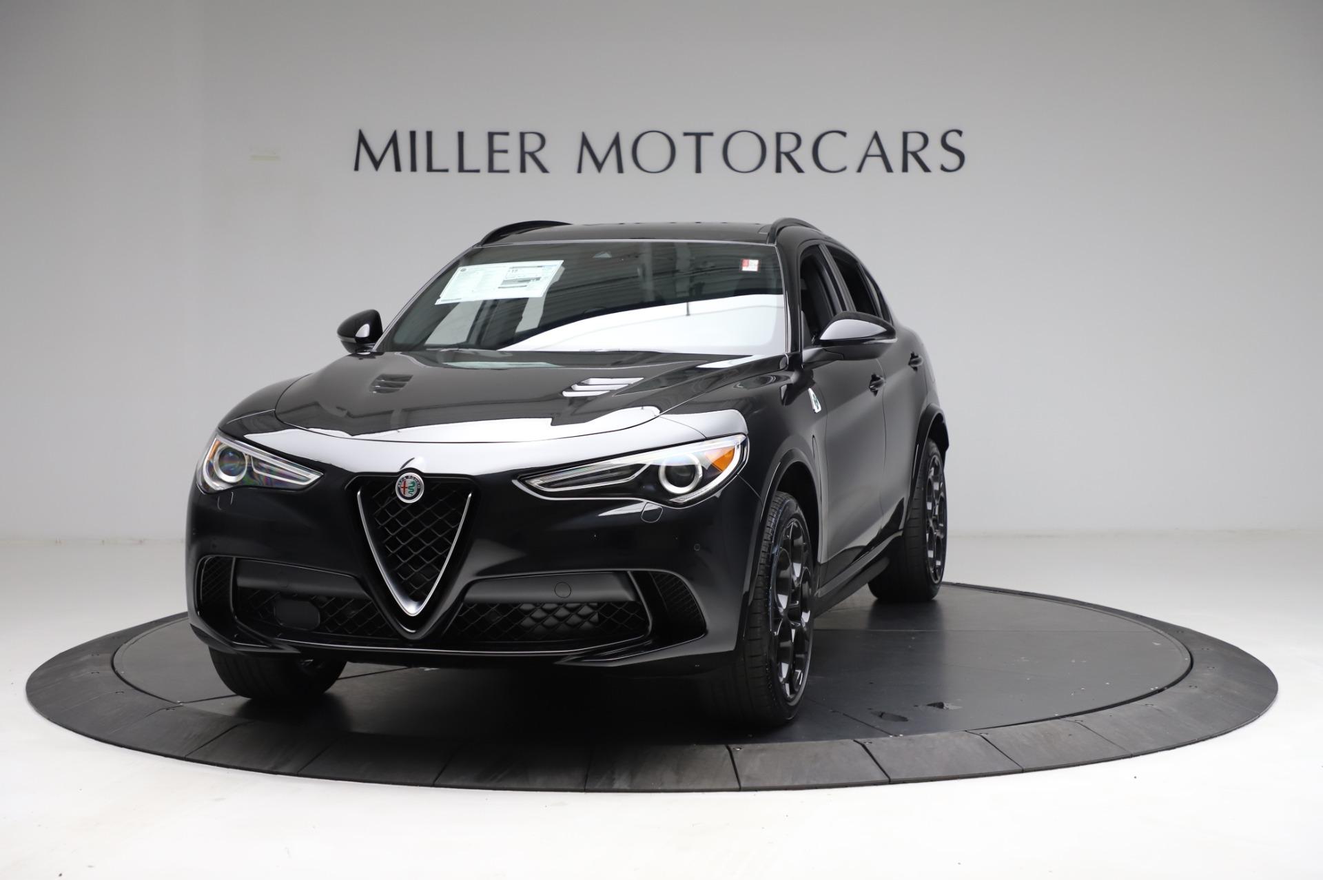 New 2021 Alfa Romeo Stelvio Quadrifoglio for sale $90,450 at Alfa Romeo of Westport in Westport CT 06880 1
