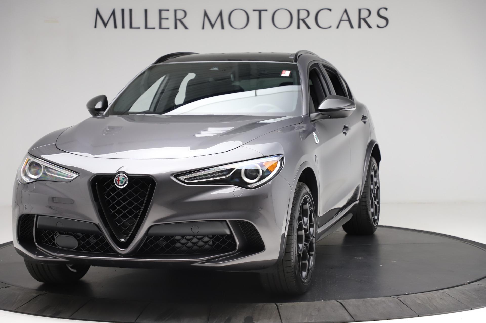New 2021 Alfa Romeo Stelvio Quadrifoglio for sale $91,750 at Alfa Romeo of Westport in Westport CT 06880 1