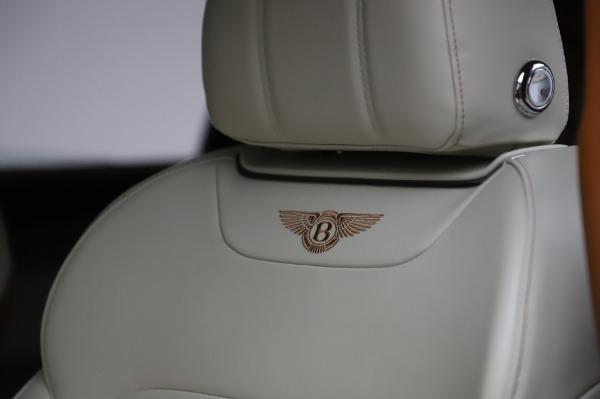 Used 2018 Bentley Bentayga Onyx Edition for sale $149,900 at Alfa Romeo of Westport in Westport CT 06880 20