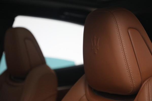 New 2021 Maserati Levante S Q4 GranSport for sale Call for price at Alfa Romeo of Westport in Westport CT 06880 18