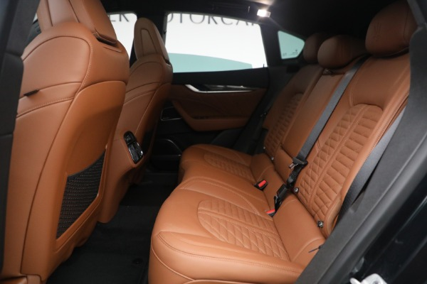 New 2021 Maserati Levante S Q4 GranSport for sale Call for price at Alfa Romeo of Westport in Westport CT 06880 26