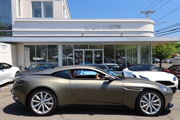 Used 2018 Aston Martin DB11 V8 for sale $151,900 at Alfa Romeo of Westport in Westport CT 06880 22