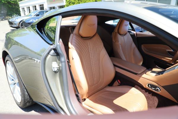 Used 2018 Aston Martin DB11 V8 for sale $151,900 at Alfa Romeo of Westport in Westport CT 06880 23