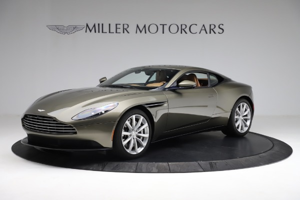 Used 2018 Aston Martin DB11 V8 for sale $151,900 at Alfa Romeo of Westport in Westport CT 06880 1