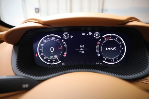 New 2021 Aston Martin DBX for sale $207,886 at Alfa Romeo of Westport in Westport CT 06880 18