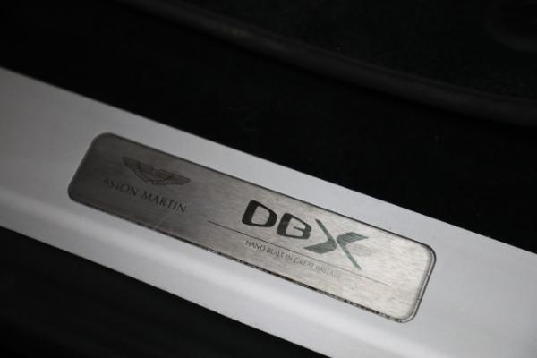 New 2021 Aston Martin DBX for sale $207,886 at Alfa Romeo of Westport in Westport CT 06880 22
