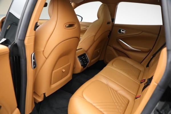 New 2021 Aston Martin DBX for sale $207,886 at Alfa Romeo of Westport in Westport CT 06880 25