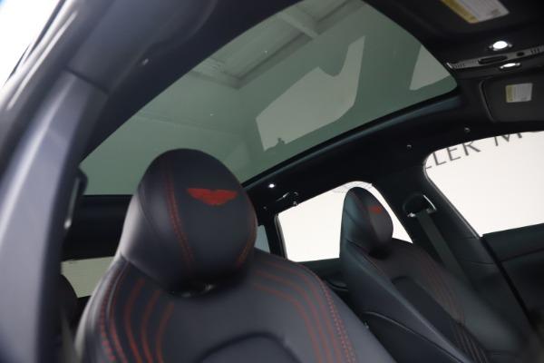 New 2021 Aston Martin DBX for sale $213,086 at Alfa Romeo of Westport in Westport CT 06880 24