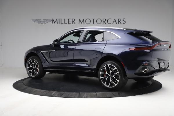 New 2021 Aston Martin DBX for sale $213,086 at Alfa Romeo of Westport in Westport CT 06880 3