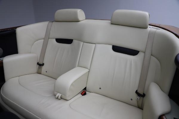Used 2009 Rolls-Royce Phantom Drophead Coupe for sale $219,900 at Alfa Romeo of Westport in Westport CT 06880 23