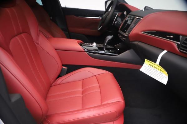 New 2021 Maserati Levante Q4 GranSport for sale $92,485 at Alfa Romeo of Westport in Westport CT 06880 22