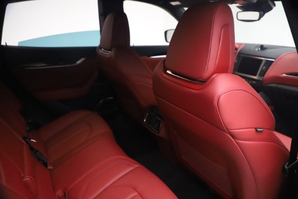 New 2021 Maserati Levante Q4 GranSport for sale $92,485 at Alfa Romeo of Westport in Westport CT 06880 24