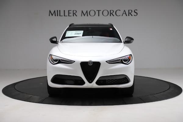 New 2021 Alfa Romeo Stelvio Ti Sport Q4 for sale $56,240 at Alfa Romeo of Westport in Westport CT 06880 12