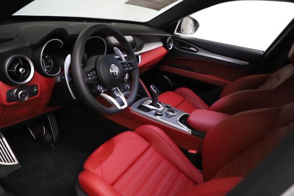 New 2021 Alfa Romeo Stelvio Ti Sport Q4 for sale $56,240 at Alfa Romeo of Westport in Westport CT 06880 13