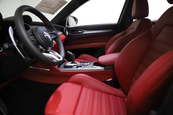 New 2021 Alfa Romeo Stelvio Ti Sport Q4 for sale $56,240 at Alfa Romeo of Westport in Westport CT 06880 14
