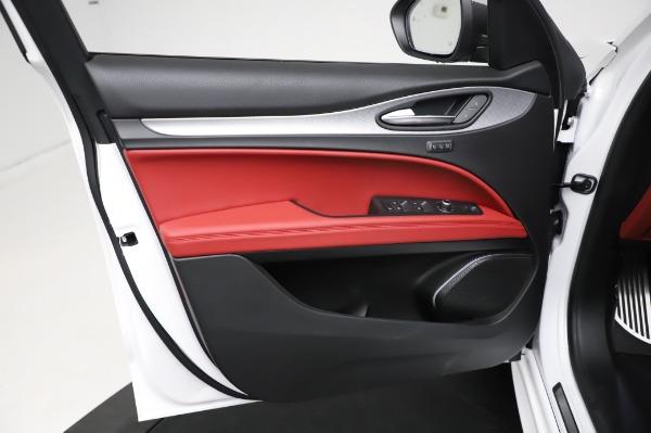 New 2021 Alfa Romeo Stelvio Ti Sport Q4 for sale $56,240 at Alfa Romeo of Westport in Westport CT 06880 17