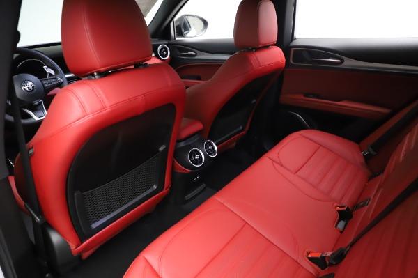 New 2021 Alfa Romeo Stelvio Ti Sport Q4 for sale $56,240 at Alfa Romeo of Westport in Westport CT 06880 18