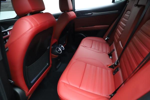 New 2021 Alfa Romeo Stelvio Ti Sport Q4 for sale $56,240 at Alfa Romeo of Westport in Westport CT 06880 19