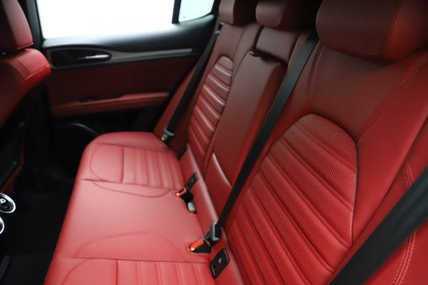 New 2021 Alfa Romeo Stelvio Ti Sport Q4 for sale $56,240 at Alfa Romeo of Westport in Westport CT 06880 20