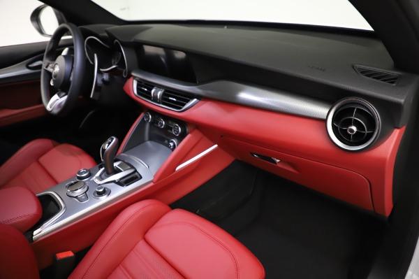 New 2021 Alfa Romeo Stelvio Ti Sport Q4 for sale $56,240 at Alfa Romeo of Westport in Westport CT 06880 22