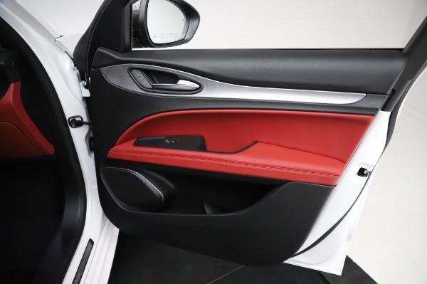 New 2021 Alfa Romeo Stelvio Ti Sport Q4 for sale $56,240 at Alfa Romeo of Westport in Westport CT 06880 24