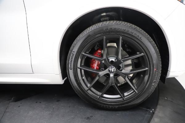 New 2021 Alfa Romeo Stelvio Ti Sport Q4 for sale $56,240 at Alfa Romeo of Westport in Westport CT 06880 28