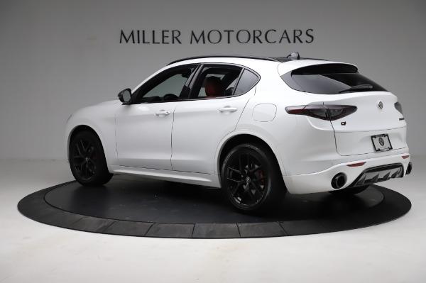 New 2021 Alfa Romeo Stelvio Ti Sport Q4 for sale $56,240 at Alfa Romeo of Westport in Westport CT 06880 4