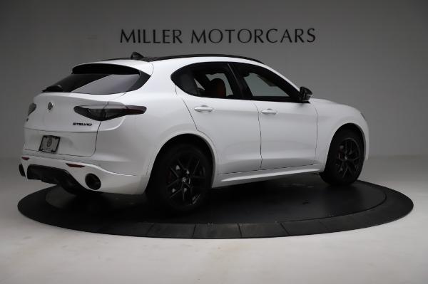 New 2021 Alfa Romeo Stelvio Ti Sport Q4 for sale $56,240 at Alfa Romeo of Westport in Westport CT 06880 8