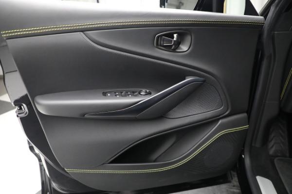 New 2021 Aston Martin DBX for sale $209,686 at Alfa Romeo of Westport in Westport CT 06880 17