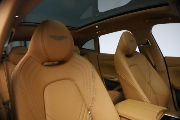 New 2021 Aston Martin DBX for sale $214,986 at Alfa Romeo of Westport in Westport CT 06880 19