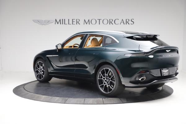 New 2021 Aston Martin DBX for sale $214,986 at Alfa Romeo of Westport in Westport CT 06880 3