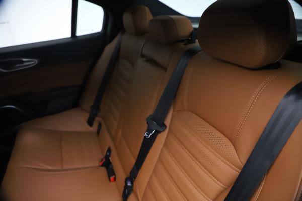 New 2021 Alfa Romeo Giulia Ti Sport Q4 for sale $54,050 at Alfa Romeo of Westport in Westport CT 06880 20