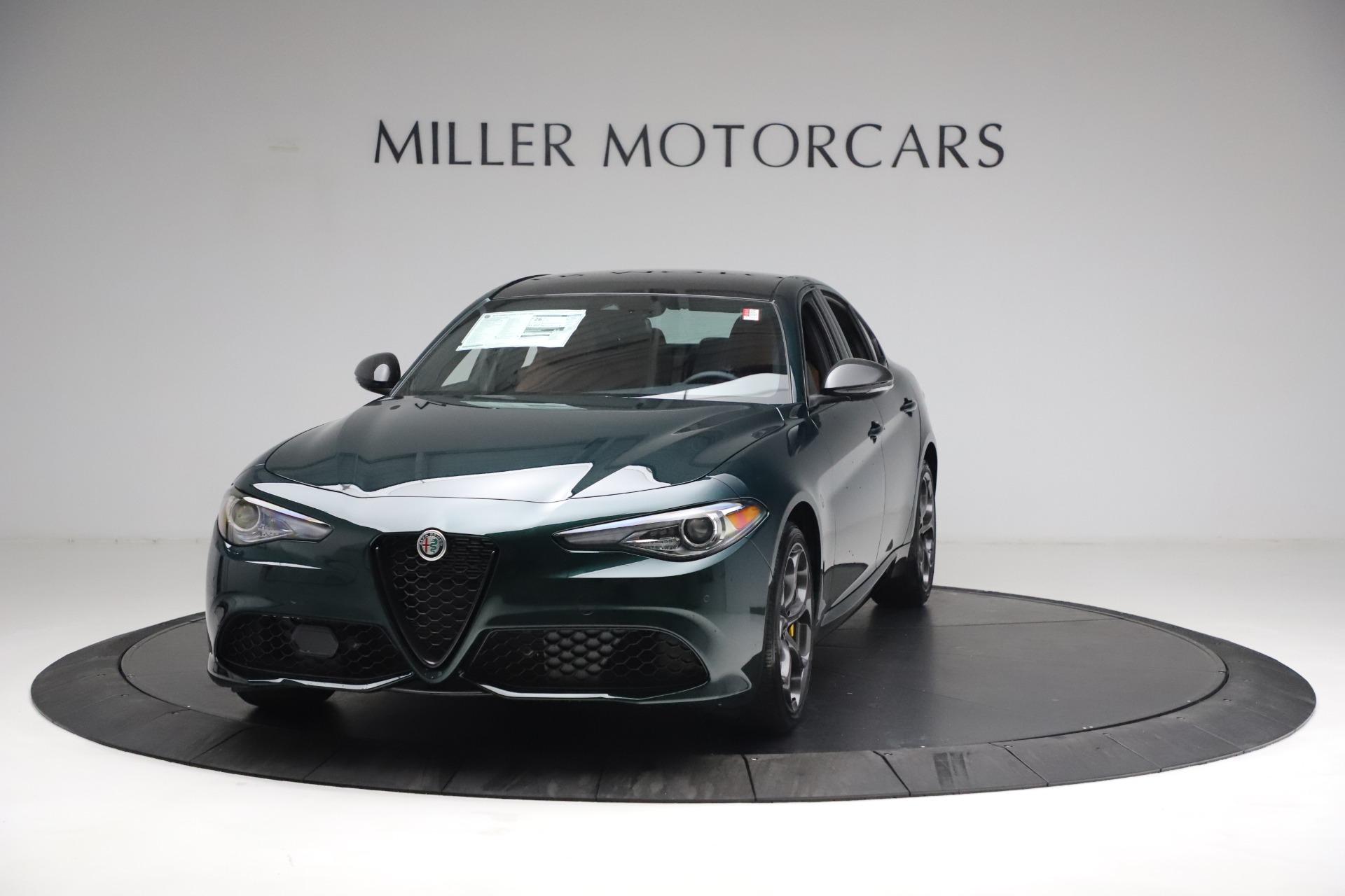 New 2021 Alfa Romeo Giulia Ti Sport Q4 for sale $54,050 at Alfa Romeo of Westport in Westport CT 06880 1