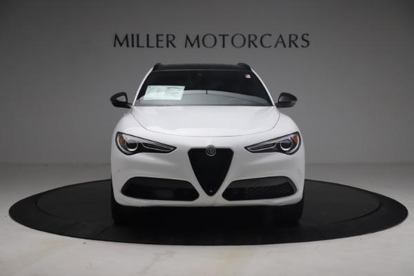 New 2021 Alfa Romeo Stelvio Ti Sport Q4 for sale $54,095 at Alfa Romeo of Westport in Westport CT 06880 13