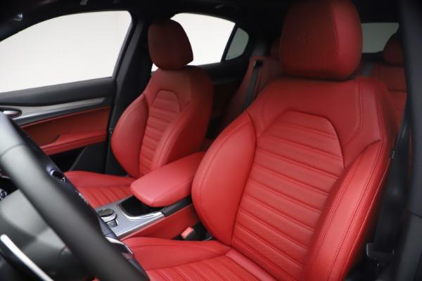 New 2021 Alfa Romeo Stelvio Ti Sport Q4 for sale $54,095 at Alfa Romeo of Westport in Westport CT 06880 16