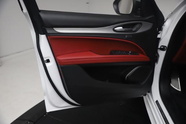 New 2021 Alfa Romeo Stelvio Ti Sport Q4 for sale $54,095 at Alfa Romeo of Westport in Westport CT 06880 17