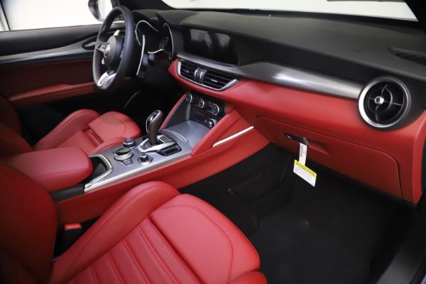 New 2021 Alfa Romeo Stelvio Ti Sport Q4 for sale $54,095 at Alfa Romeo of Westport in Westport CT 06880 22