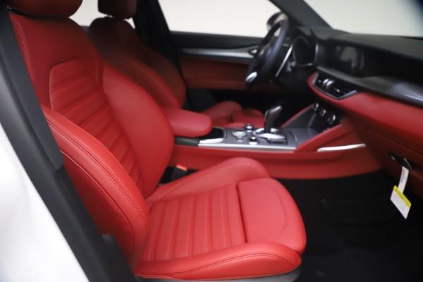 New 2021 Alfa Romeo Stelvio Ti Sport Q4 for sale $54,095 at Alfa Romeo of Westport in Westport CT 06880 23