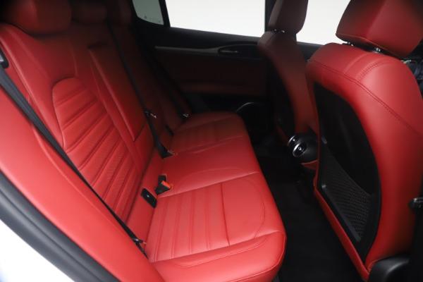 New 2021 Alfa Romeo Stelvio Ti Sport Q4 for sale $54,095 at Alfa Romeo of Westport in Westport CT 06880 26