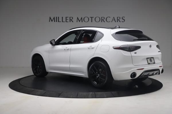 New 2021 Alfa Romeo Stelvio Ti Sport Q4 for sale $54,095 at Alfa Romeo of Westport in Westport CT 06880 5