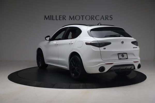 New 2021 Alfa Romeo Stelvio Ti Sport Q4 for sale $54,095 at Alfa Romeo of Westport in Westport CT 06880 6