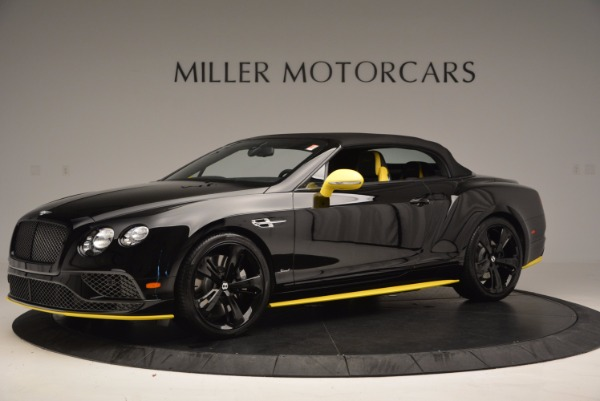 New 2017 Bentley Continental GT Speed Black Edition Convertible for sale Sold at Alfa Romeo of Westport in Westport CT 06880 11