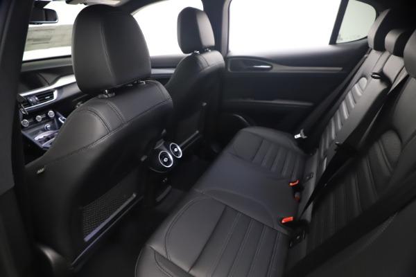 New 2021 Alfa Romeo Stelvio Ti Sport Q4 for sale $57,200 at Alfa Romeo of Westport in Westport CT 06880 17