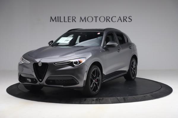 New 2021 Alfa Romeo Stelvio Ti Sport Q4 for sale $57,200 at Alfa Romeo of Westport in Westport CT 06880 2