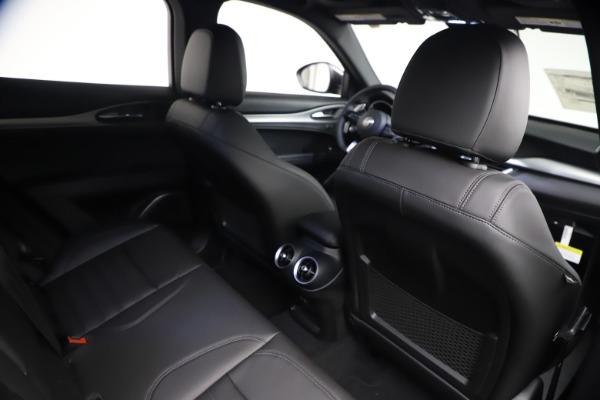 New 2021 Alfa Romeo Stelvio Ti Sport Q4 for sale $57,200 at Alfa Romeo of Westport in Westport CT 06880 24