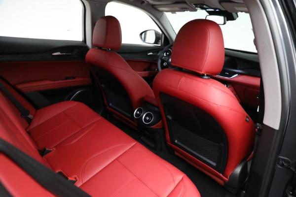 New 2021 Alfa Romeo Stelvio Q4 for sale $50,445 at Alfa Romeo of Westport in Westport CT 06880 21