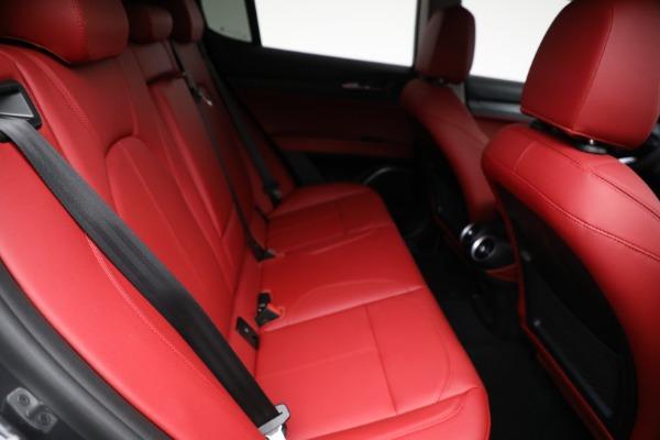 New 2021 Alfa Romeo Stelvio Q4 for sale $50,445 at Alfa Romeo of Westport in Westport CT 06880 22