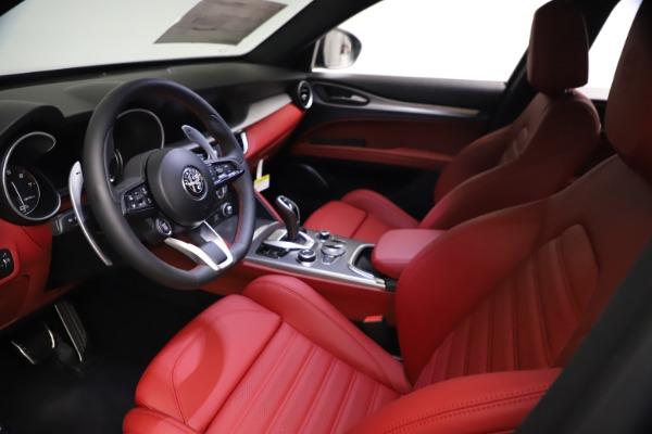 New 2021 Alfa Romeo Stelvio Ti Sport Q4 for sale $57,200 at Alfa Romeo of Westport in Westport CT 06880 14
