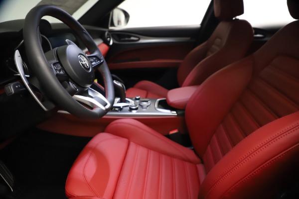 New 2021 Alfa Romeo Stelvio Ti Sport Q4 for sale $57,200 at Alfa Romeo of Westport in Westport CT 06880 15